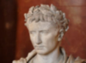 Caesar Augustus, aka Octavian.  Photo by Pierre-Selim.