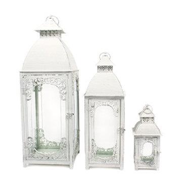 Lantern White 3pcs