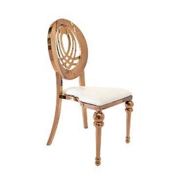 Bridal Chair Rose Gold