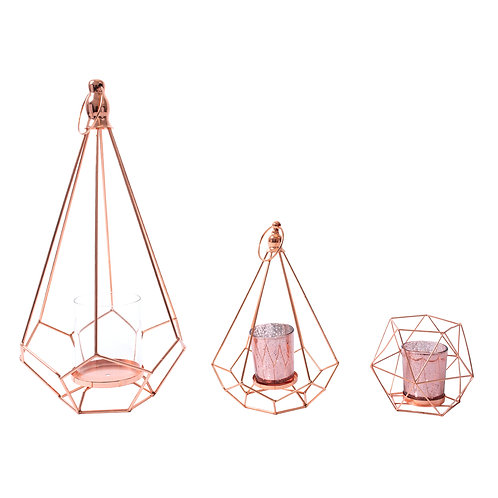 Candle Stand Rose Gold