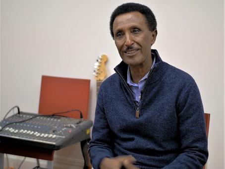 Introducing (Re-introducing) Singer and Musician, Berhane Abraham (Wedi Atsbu)