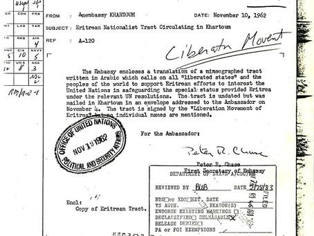 Another interesting protest letter, November 1962