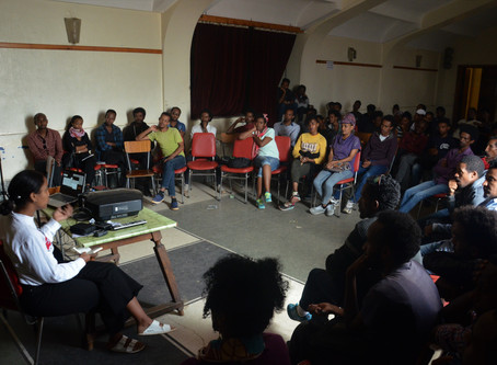 Pictures from an intensive one-month summer filmmaking workshop in Asmara, Eritrea
