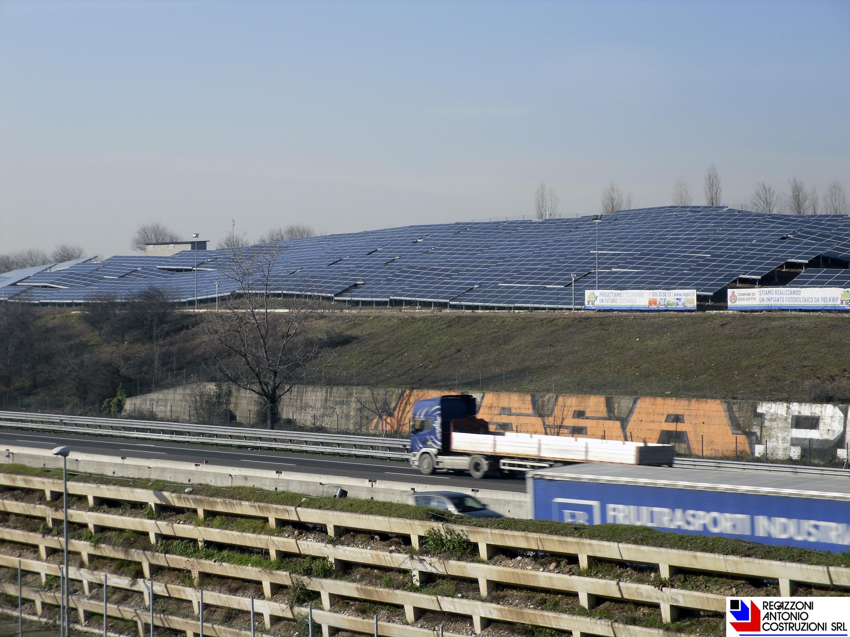 Osio Sotto - Strutture murarie portanti impianto fotovoltaico