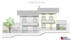 Prospetto sud Lotto A - scala 1a100