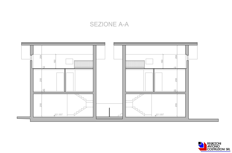 Sezione A - scala 1a100