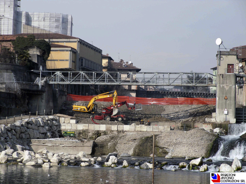 Ponte San Pietro - Impianto idroelettrico Enel