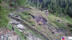 Valle Scura - messa in sicurezza versante
