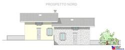 Prospetto nord - scala 1a100