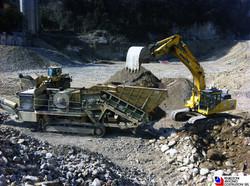 San PellegrinoTerme - Frantumazione materiali