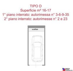 Box tipologia D - scala 1a100