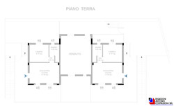 Piano terra Monticello 2 - scala 1a100