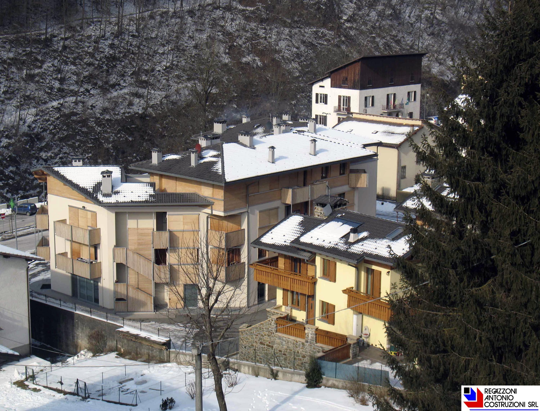 Olmo al Brembo - Vista dall'alto condominio I Gessi