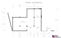 Piano interrato Monticello 3 - scala 1a100