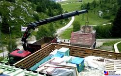 Piani di Bobbio - Ristrutturazione rifugio Ratti