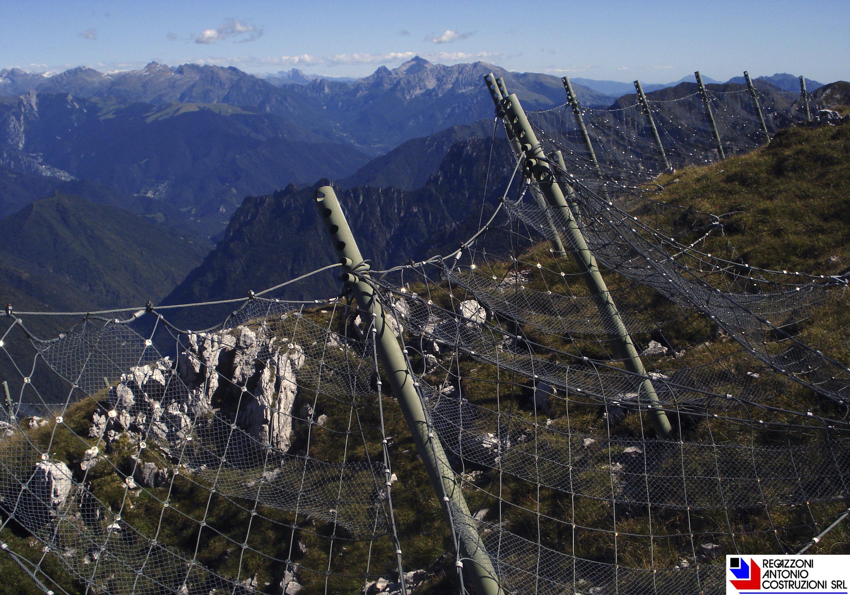 Valtorta (Val Frasnida) - Reti paramassi
