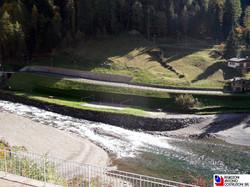Carona - strada lungo lago