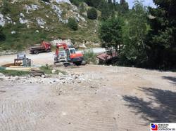 Bobbio - realizzazione strada privata