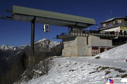 Piani di Bobbio - Arrivo cabinovia di connessione Barzio-Piani di Bobbio