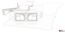 Pianta piano terra villette - scala 1a100
