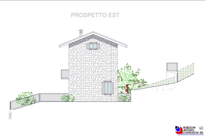 Prospetto est villette - scala 1a100