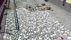 San Pellegrino - realizzazione piazzale privato