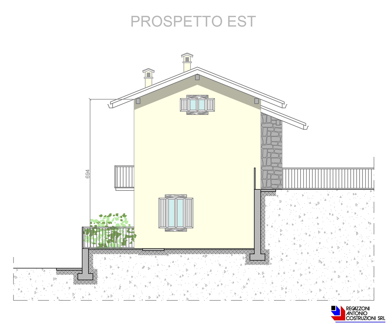 Prospetto est Lotto A - scala 1a100