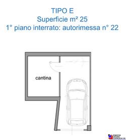 Box tipologia E - scala 1a100