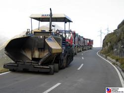 Passo San Marco - Parco mezzi asfaltatura