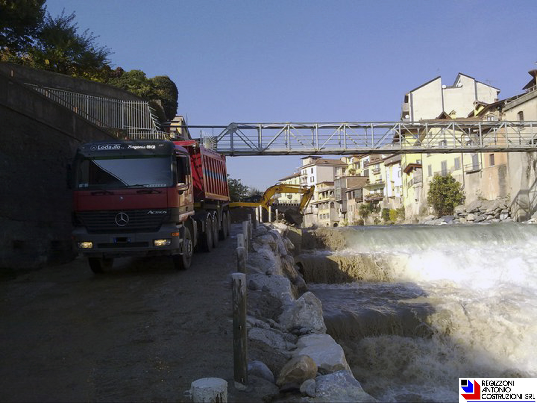 Ponte San Pietro - Traversa Enel