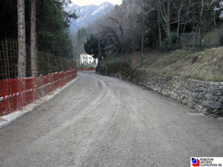 San Pellegrino Terme - Allargamento stradale
