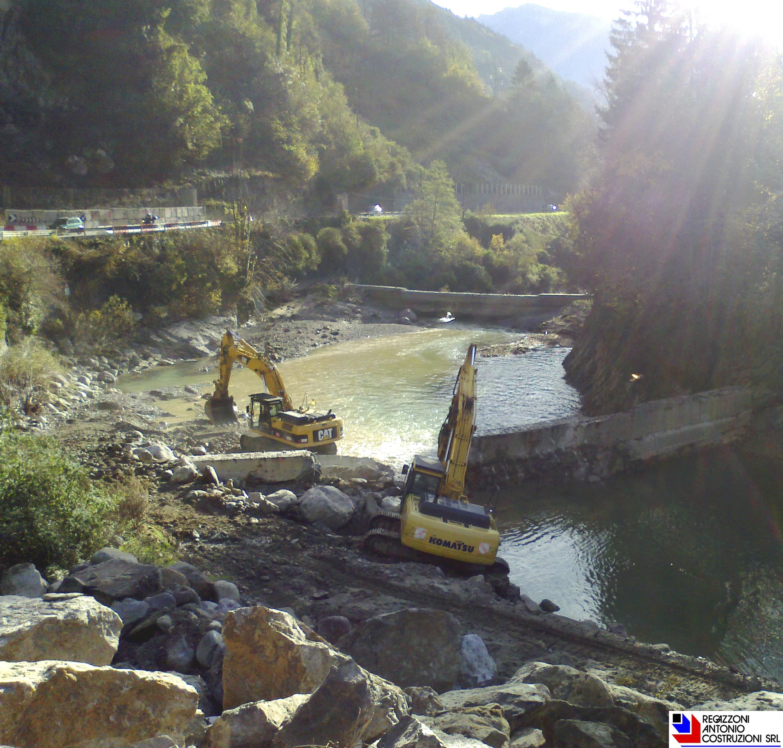 Olmo al brembo - Regimazione idraulica fiume Brembo