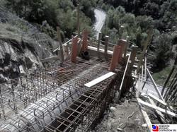 Val Taleggio - Ancoraggio tubazione centralina idroelettrica