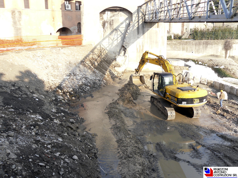 Ponte San Pietro - Nuova traversa Enel