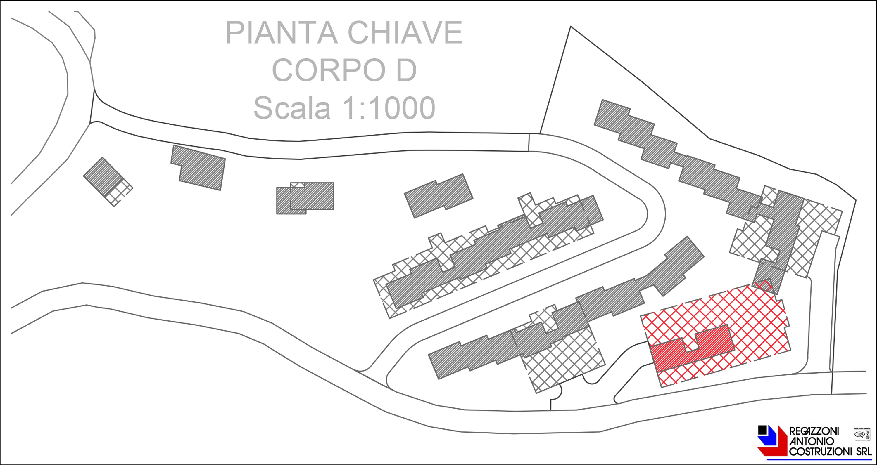 Key plan - scala 1a1000