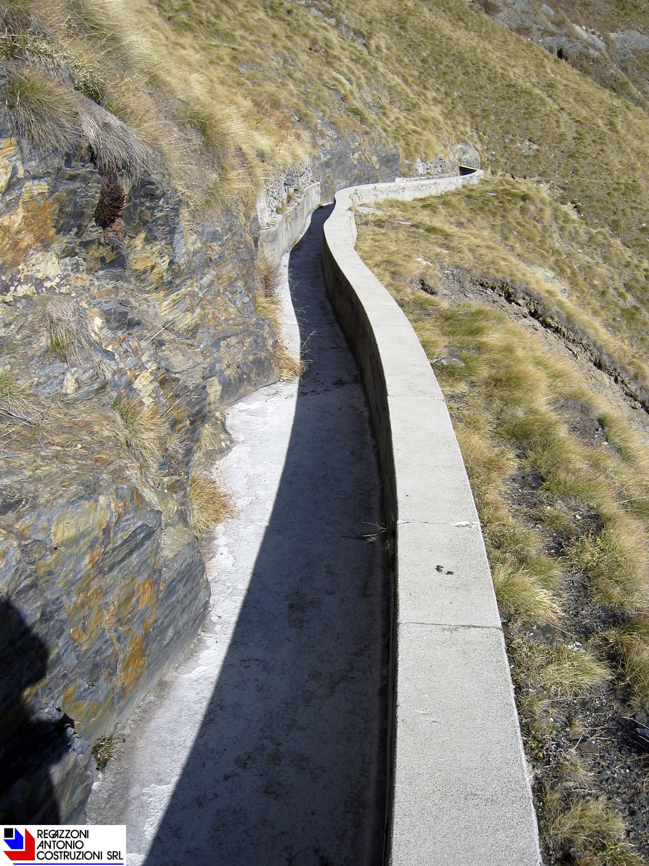Val Taleggio - Regimazione canale