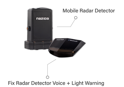GP1 GPS Speedo Meter Radar detector mobi