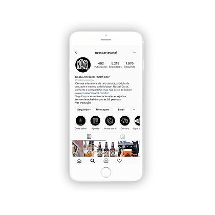 Organização do Instagram