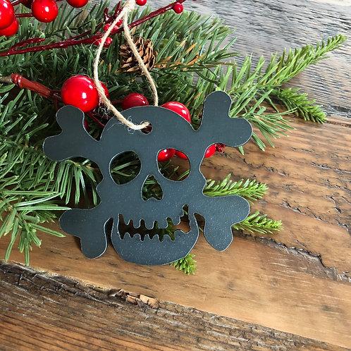 Skull and Bones Ornament