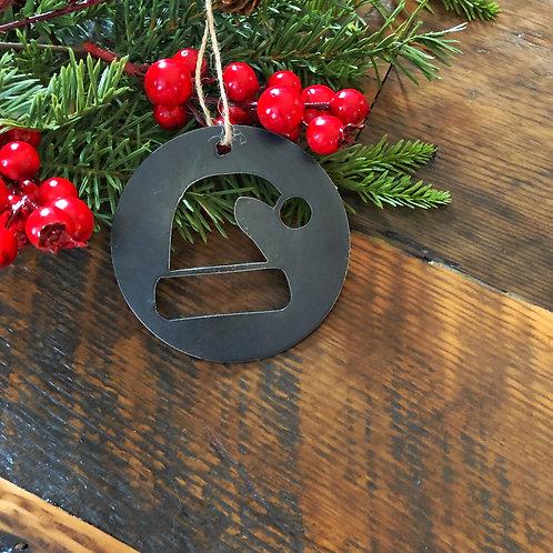 Santas Hat Ball Ornament