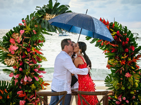 Paola and Federico's Island Garden-Themed Wedding