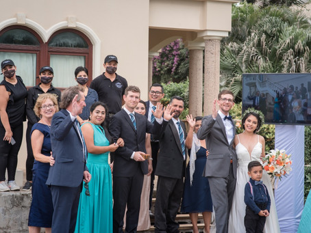 Our Very First Destination Wedding over Zoom (Yes, it's possible)