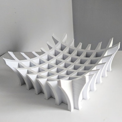 Crossed bowl