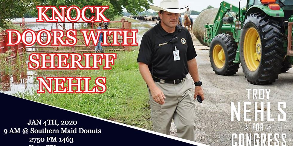 KNOCK DOORS WITH SHERIFF NEHLS