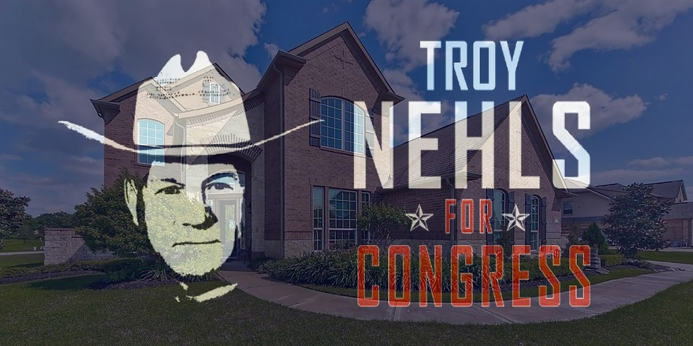 NEHLS FOR CONGRESS MEET & GREET - HOSTED BY RYAN CURTIS