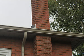 eavestrough, soffit and fascia