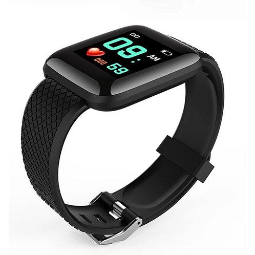 KarenM D13 Smartwatch IOS / Android Schwarz
