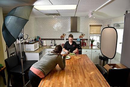KSNI Food Photography working on location