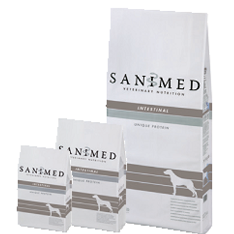 SANIMED Dog Intestinal Sample 125g Pack x 2