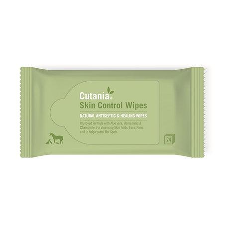 Cutania Natural Skin Control Wipes (24 wipes)